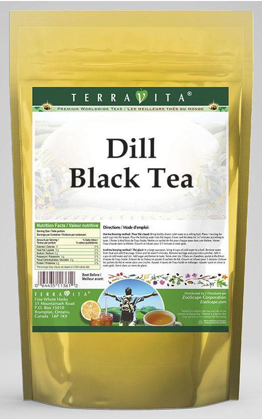 Dill Black Tea