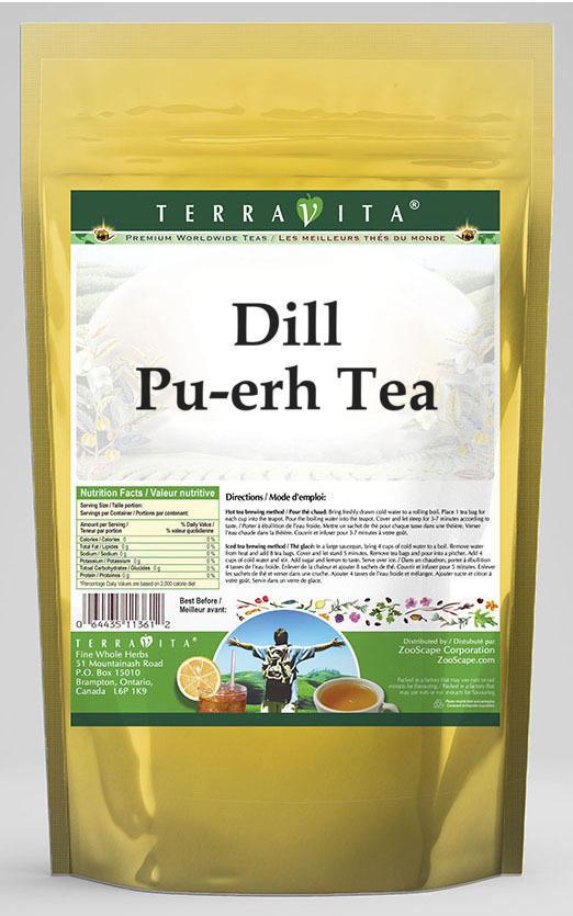 Dill Pu-erh Tea