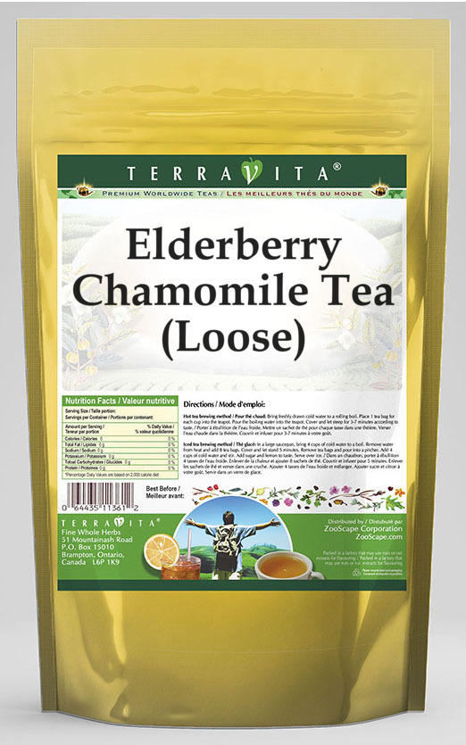 Elderberry Chamomile Tea (Loose)