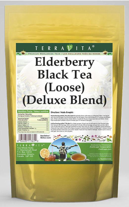 Elderberry Black Tea (Loose) (Deluxe Blend)
