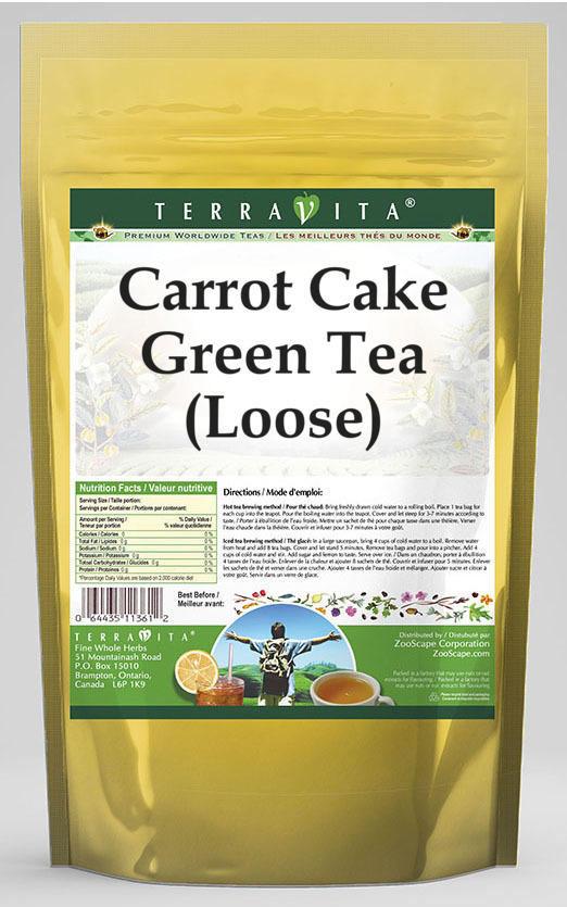Carrot Cake Green Tea (Loose)