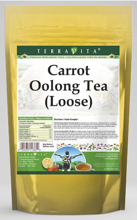 Carrot Oolong Tea (Loose)