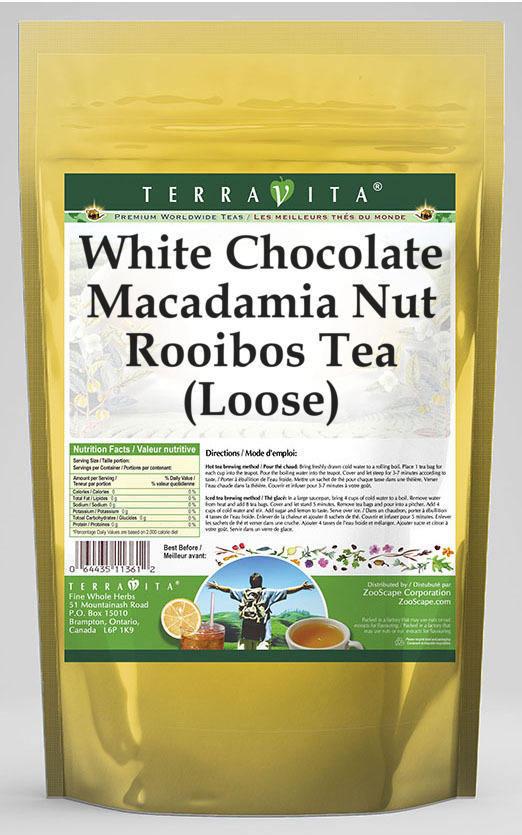 White Chocolate Macadamia Nut Rooibos Tea (Loose)
