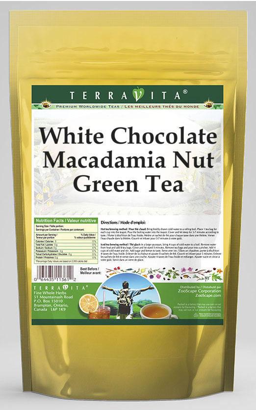 White Chocolate Macadamia Nut Green Tea