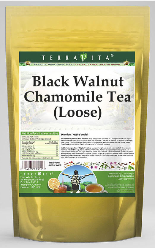 Black Walnut Chamomile Tea (Loose)