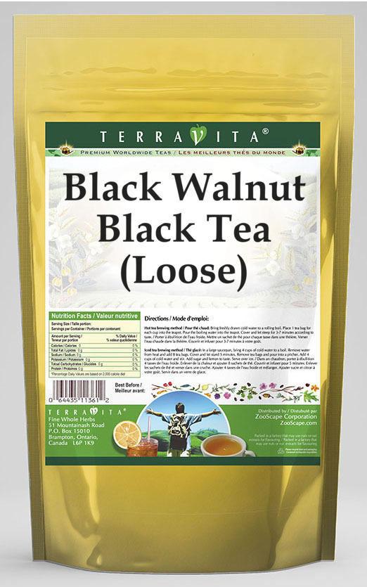 Black Walnut Black Tea (Loose)