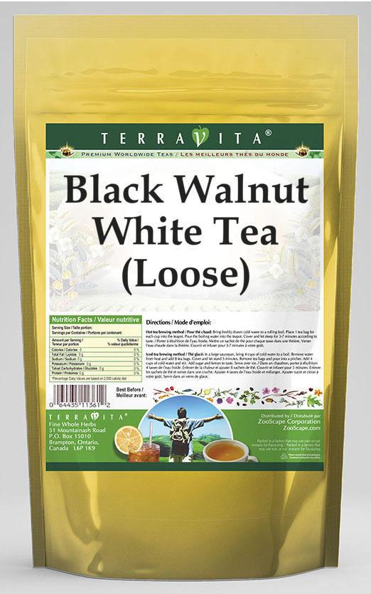 Black Walnut White Tea (Loose)