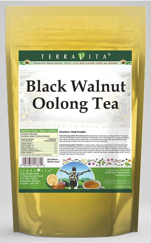 Black Walnut Oolong Tea