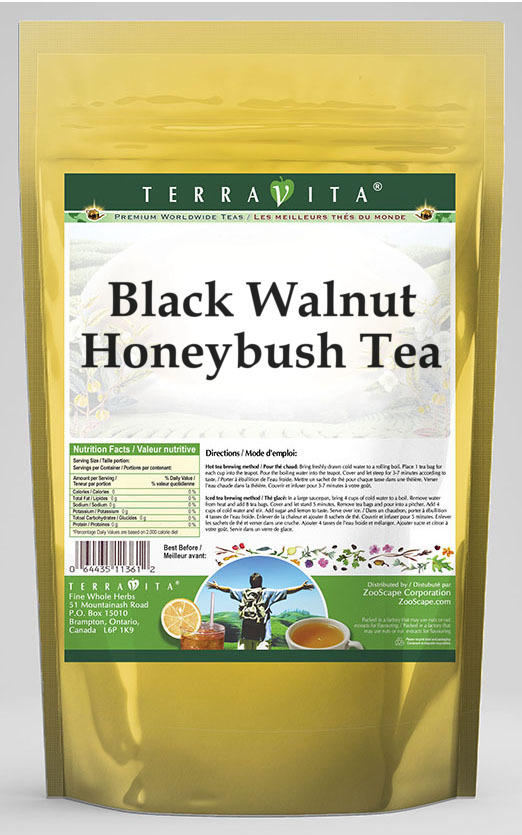 Black Walnut Honeybush Tea