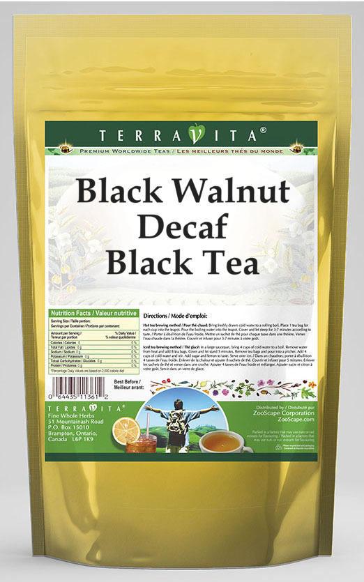 Black Walnut Decaf Black Tea