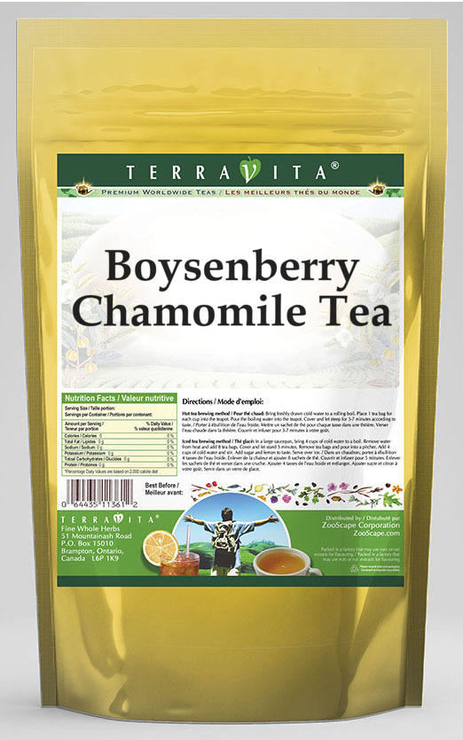 Boysenberry Chamomile Tea