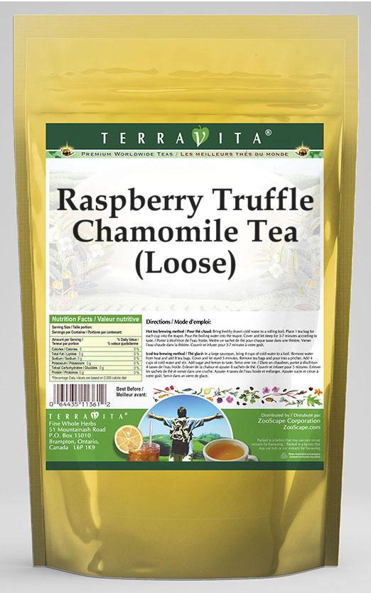 Raspberry Truffle Chamomile Tea (Loose)