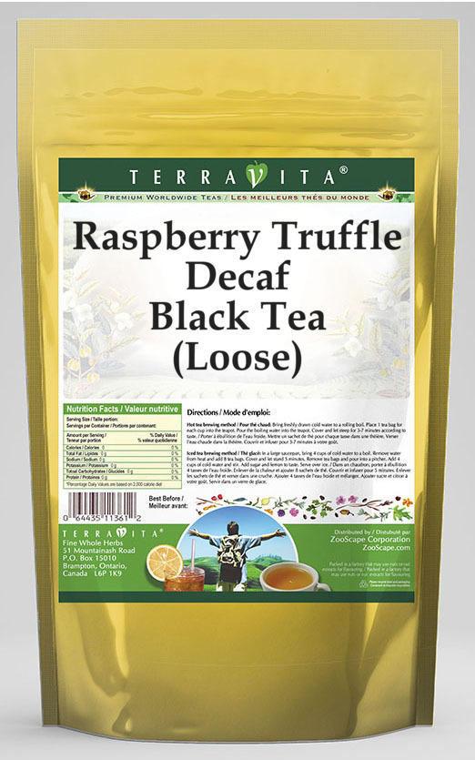 Raspberry Truffle Decaf Black Tea (Loose)