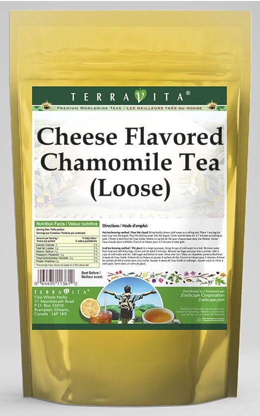 Cheese Flavored Chamomile Tea (Loose)