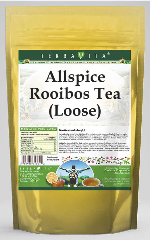 Allspice Rooibos Tea (Loose)