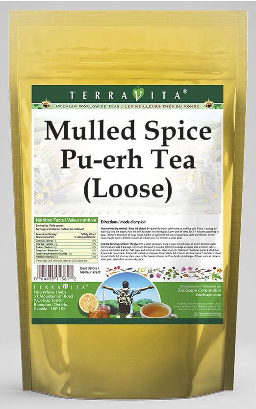 Mulled Spice Pu-erh Tea (Loose)
