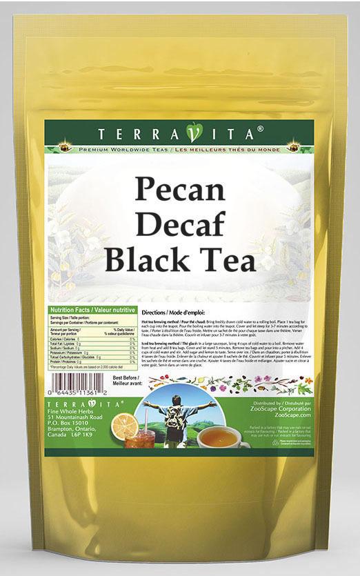 Pecan Decaf Black Tea