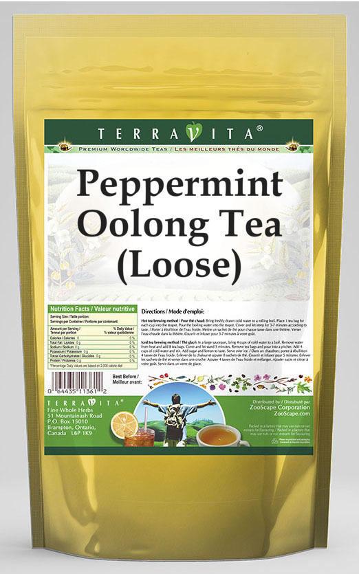 Peppermint Oolong Tea (Loose)