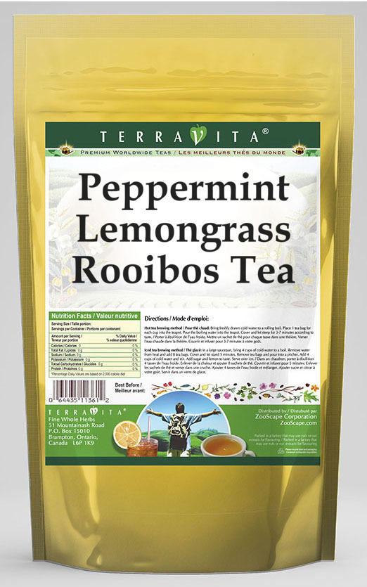 Peppermint Lemongrass Rooibos Tea