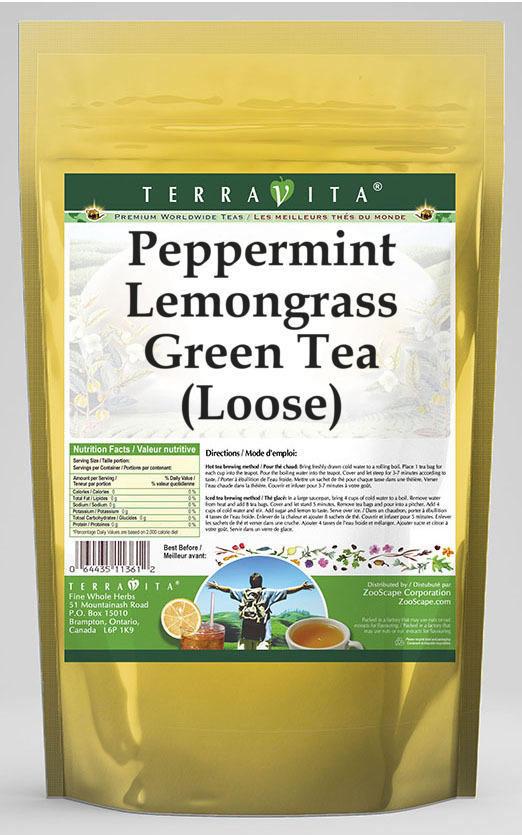 Peppermint Lemongrass Green Tea (Loose)