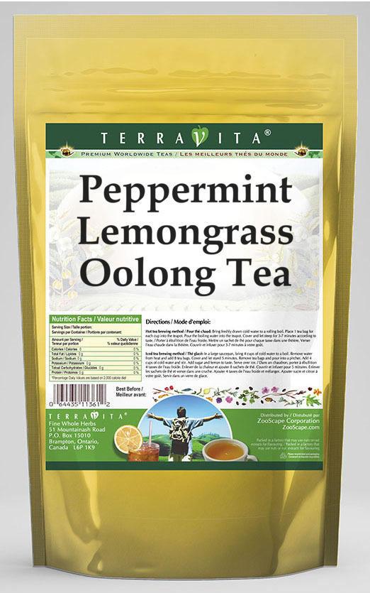 Peppermint Lemongrass Oolong Tea