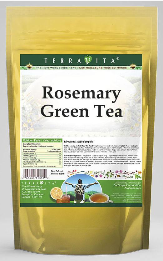 Rosemary Green Tea