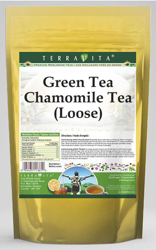 Green Tea Chamomile Tea (Loose)