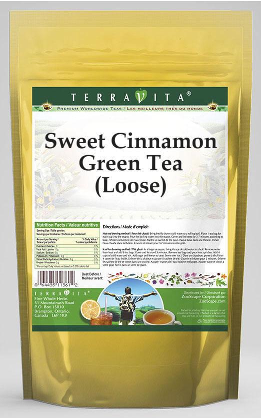 Sweet Cinnamon Green Tea (Loose)