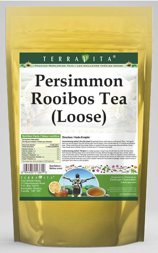 Persimmon Rooibos Tea (Loose)