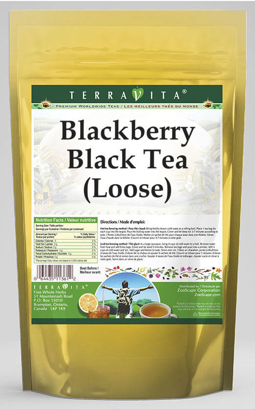 Blackberry Black Tea (Loose)