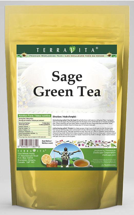 Sage Green Tea