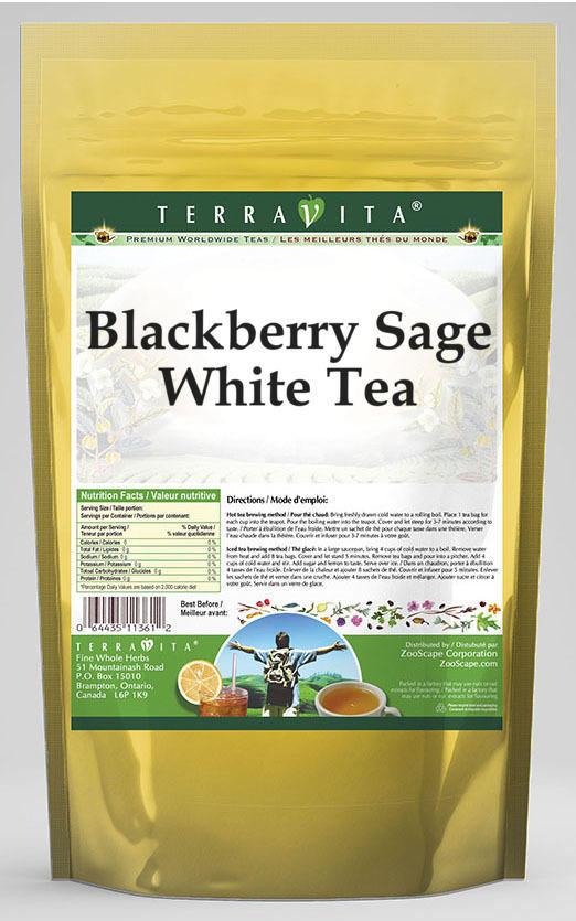 Blackberry Sage White Tea