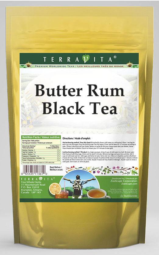 Butter Rum Black Tea (Deluxe Blend)