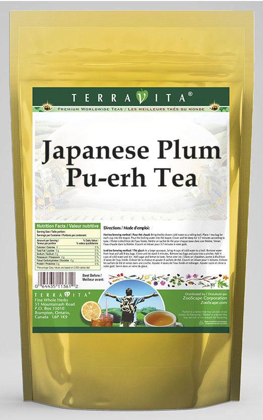 Japanese Plum Pu-erh Tea