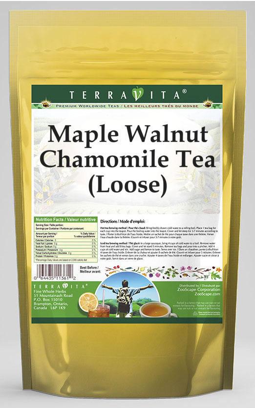 Maple Walnut Chamomile Tea (Loose)