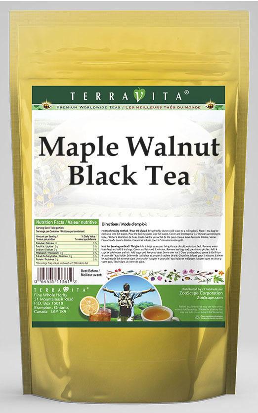 Maple Walnut Black Tea