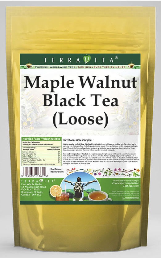 Maple Walnut Black Tea (Loose)
