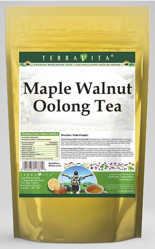 Maple Walnut Oolong Tea