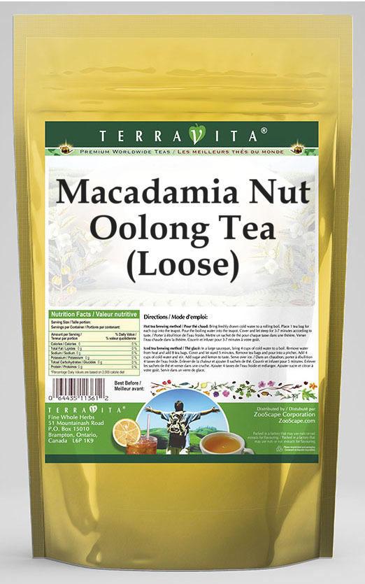 Macadamia Nut Oolong Tea (Loose)