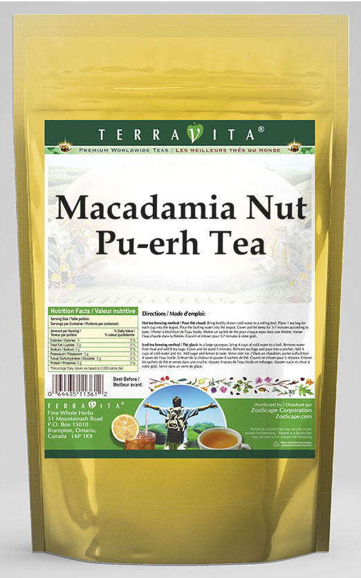 Macadamia Nut Pu-erh Tea