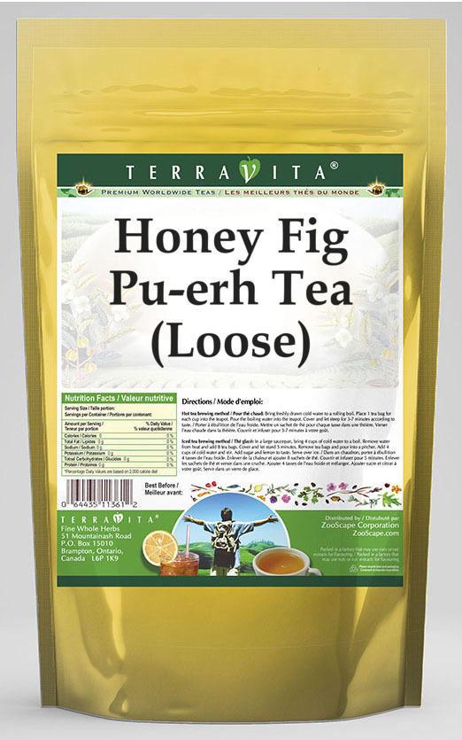 Honey Fig Pu-erh Tea (Loose)