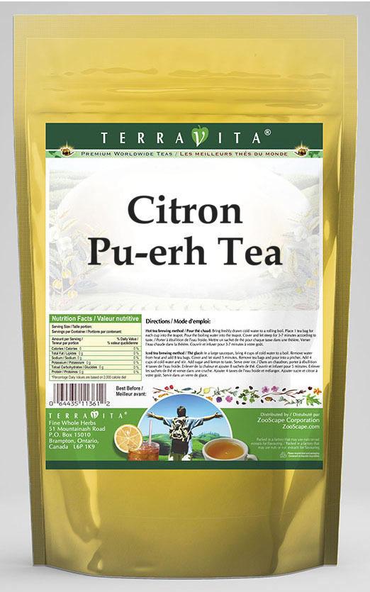 Citron Pu-erh Tea