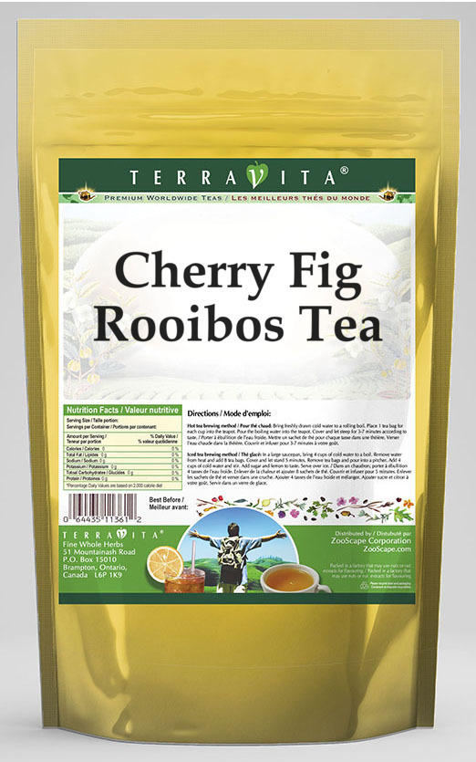 Cherry Fig Rooibos Tea