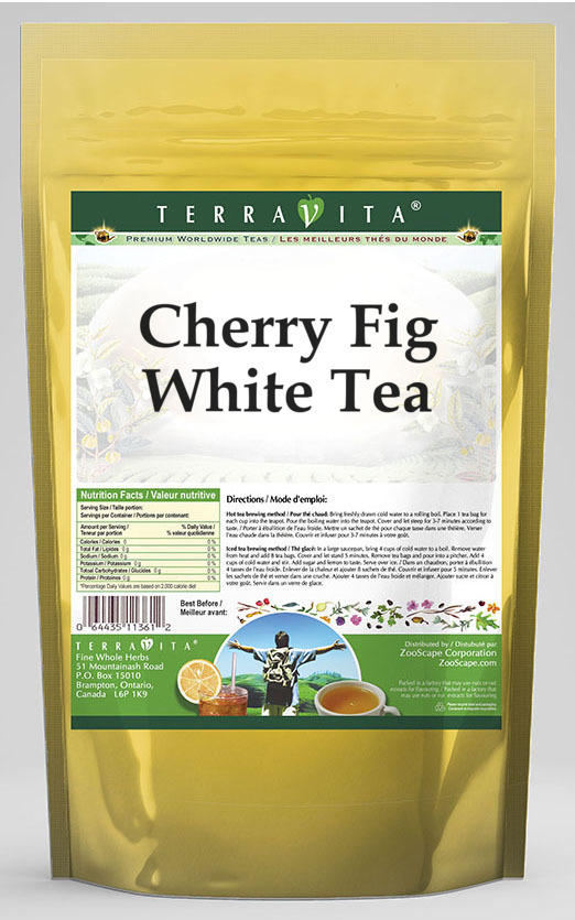 Cherry Fig White Tea