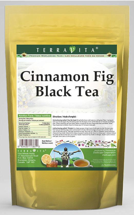 Cinnamon Fig Black Tea