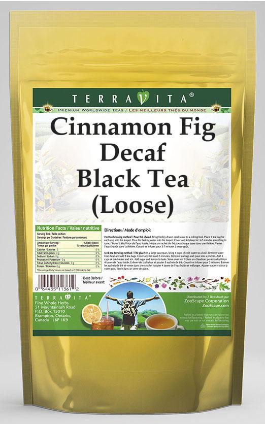 Cinnamon Fig Decaf Black Tea (Loose)