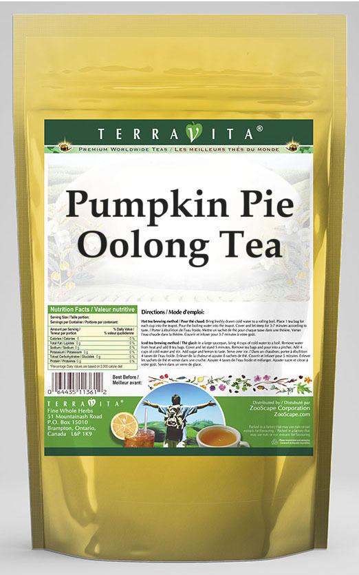 Pumpkin Pie Oolong Tea