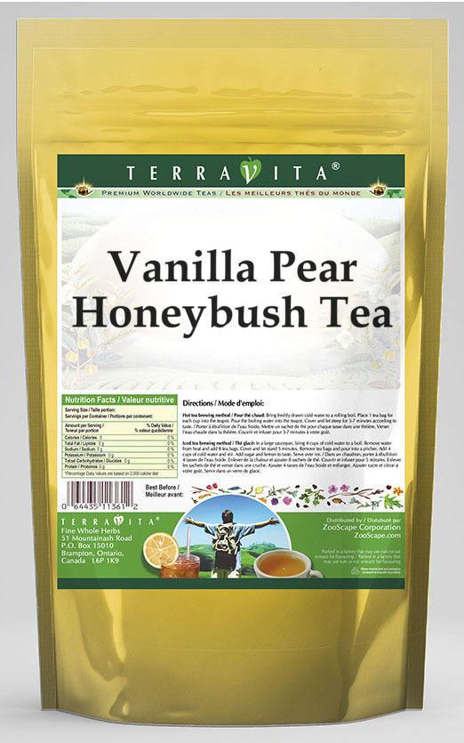 Vanilla Pear Honeybush Tea