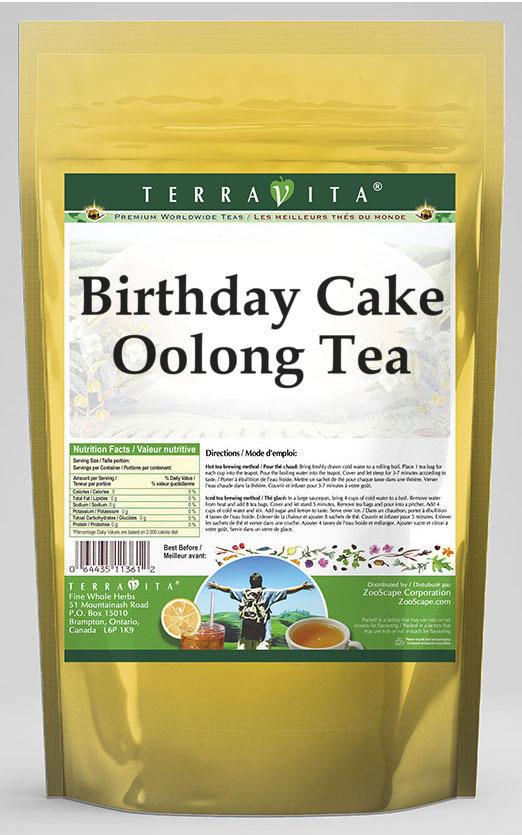 Birthday Cake Oolong Tea