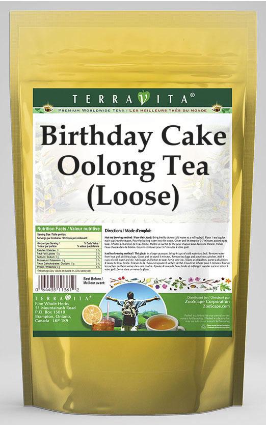Birthday Cake Oolong Tea (Loose)